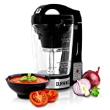 Duronic BL78 Blender chauffant à soupe en verre transparent – Créez vos soupes et gaspachos par simple pression d'une touche !