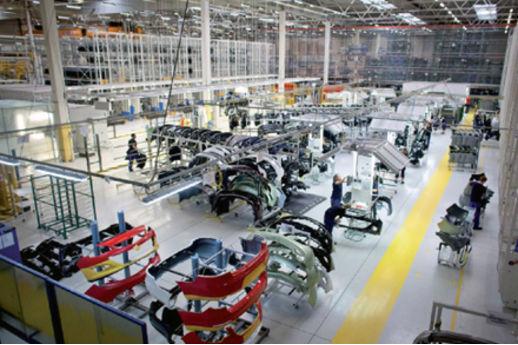 Faurecia, Plastic Omnium et Valeo bénéficient pleinement de la croissance des constructeurs auto chinois