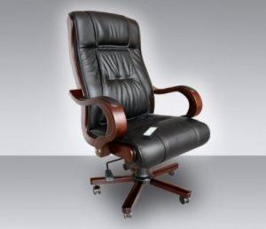 fauteuil de bureau en cuir