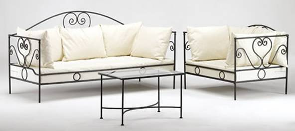 meubles en fer forgé