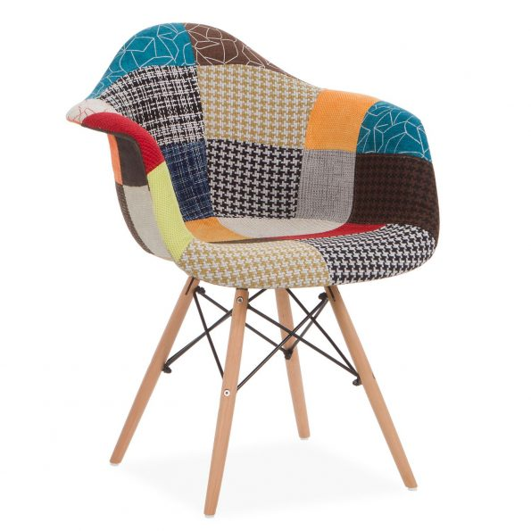 chaise Eames patchwork