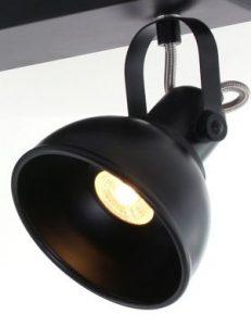 Plafonnier-industriel-noir