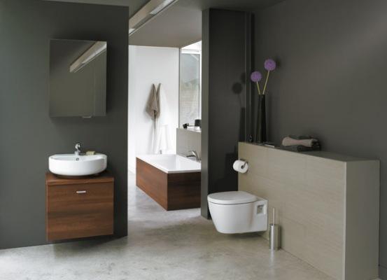 decoration salle de bain wc suspendu