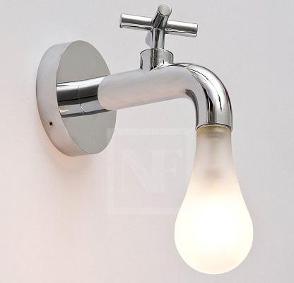 decoration salle de bainb eclairage