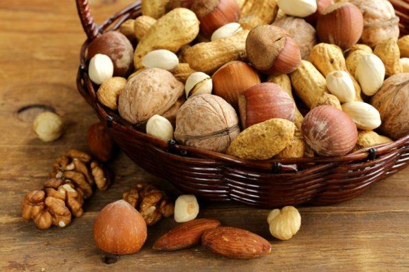 Les noix et les fruits à coque