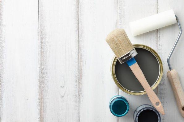 pinceaux et rouleaux pour la peinture glycéro