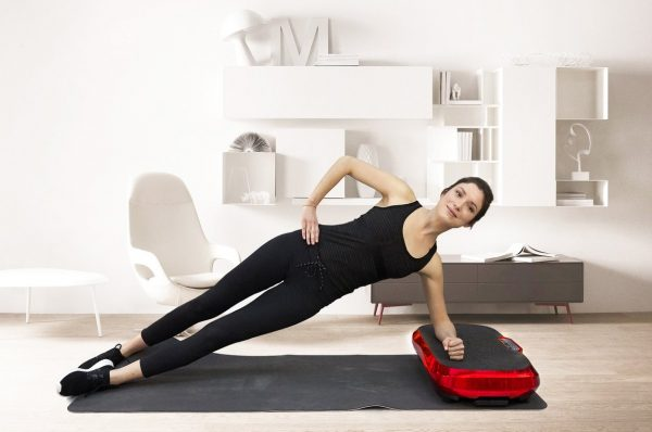 fitness plateforme vibrante