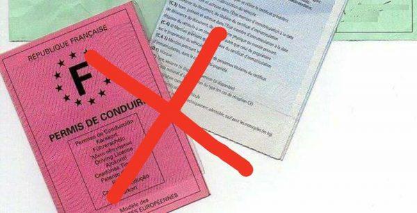 suppression permis conduire