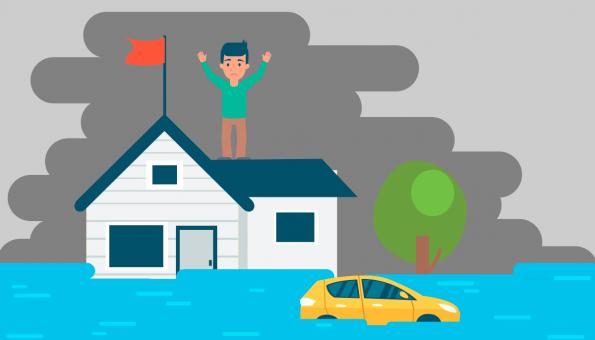 assurance habitation tempêtes et catastrophes naturelles