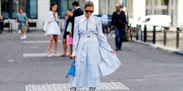 robe de cocktail bleu pour mariage