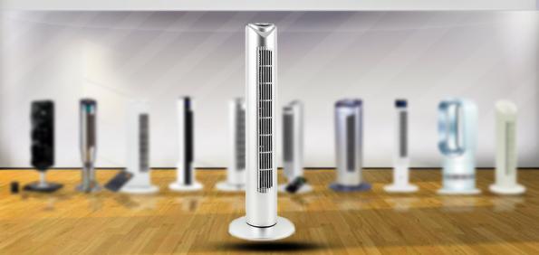 ventilateur silencieux colonne