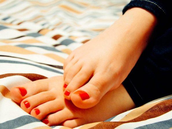 L'hygiène des pieds est fondamentale