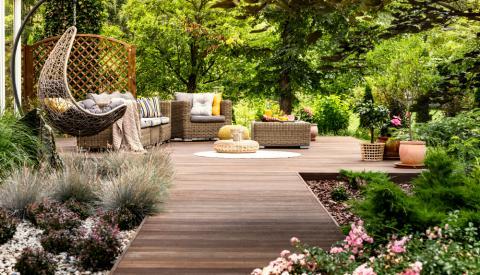 décorer son salon de jardin