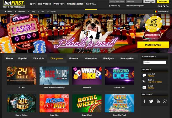 casino en ligne betFIRST
