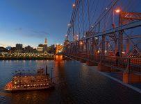 Cincinnati, pont de Newport Southbank
