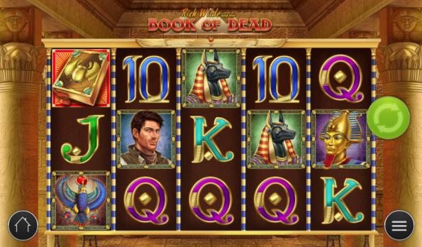 avis sur la machine à sous Book of Dead