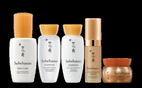 cosmétique coréenne Sulwhasoo produits